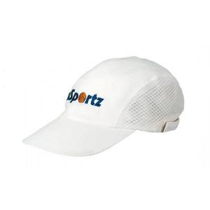 HT-019W – RUNNING/PERFORMANCE CAP - WHITE